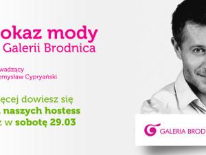 Pokaz mody w galerii Brodnica!