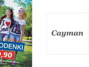 Modne sezonowe spodenki w Cayman