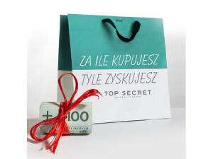 Za ile kupujesz tyle zyskujesz – Top Secret