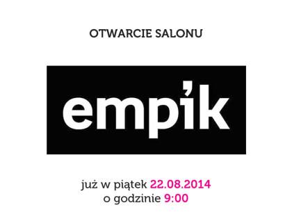 Otwarcie salonu Empik w Galerii Brodnica
