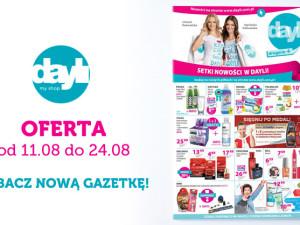 Gazetka Dayli 11.08 – 24.08