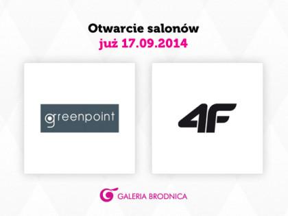 Nowe marki w Galerii Brodnica!