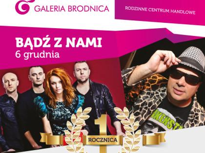 Pierwsza rocznica Galerii Brodnica