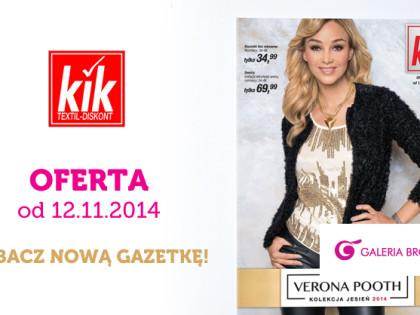 KIK- kolekcja jesień 2014