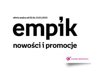Noworoczne promocje w Empiku
