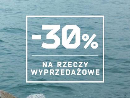 -30% na rzeczy wyprzedażowe w salonie CROPP