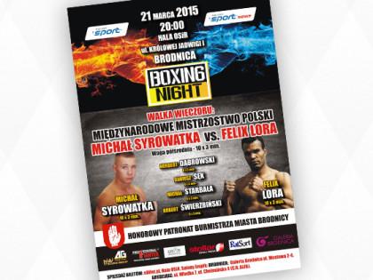Trening zawodników przed galą Boxing Night