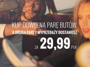 House – druga para butów za 29,99 PLN