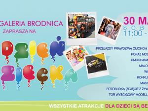Dzień Dziecka w Galerii Brodnica 30.05.2015