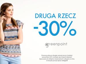 Greenpoint Fashion – druga rzecz -30%