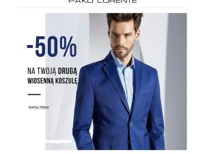 W salonie Pako Lorente – 50% na drugą wiosenną koszulę!