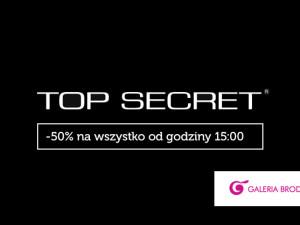 -50% na wszytko w TOP SECRET