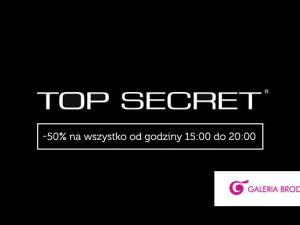 -50% na wszystko w salonie Top Secret!