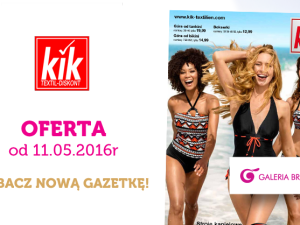 Gazetka Kik – sezon na letnie stroje!