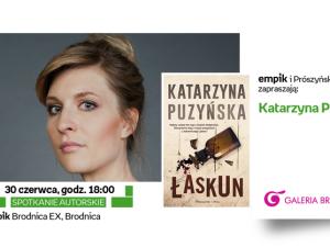 Spotkanie autorskie w Galerii Brodnica!