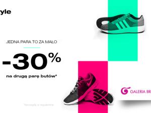 W salonie 50 style druga para butów aż 30% taniej!
