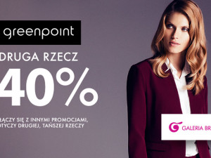 Rabat w sklepie Greenpoint!