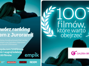 """""""100 filmów, które warto obejrzeć"""" Plebiscyt w empik"""