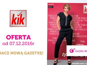Nowa gazetka promocyjna sklepu KIK!