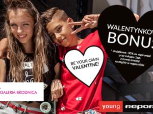 Walentynkowy bonus w  Reporter Young!