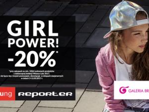 GIRL POWER z rabatem -20% na zakupy!