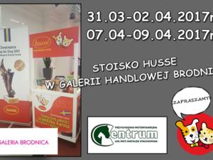Stoisko Husse w Galeria Brodnica
