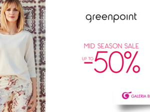 Mid Season Sale do 50% sklepie Greenpoint!
