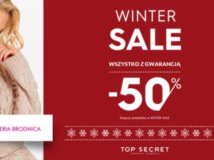 Winter sale w salonie Top Secret!
