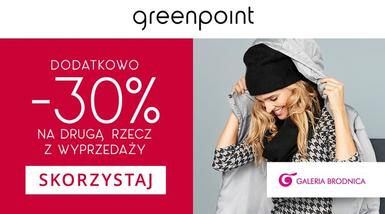 0d1012c3c502 Greenpoint -30% na drugą