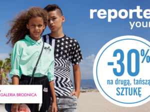 Promocja -30% w reporter young!