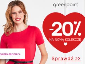 Nowa kolekcja Greenpoint o 20% taniej!