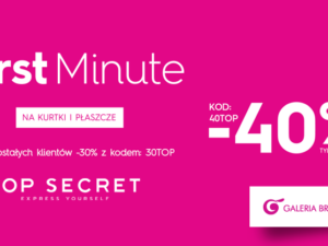 -40% w salonie TOP SECRET