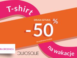 Tylko w QUIOSQUE drugi T-shirt -50%