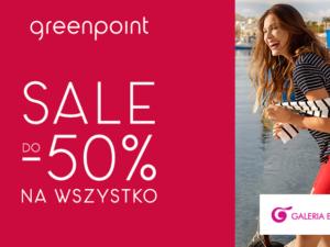 SALE do – 50% na wszystko w Greenpoint