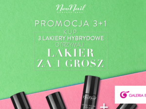 NeoNail promocja 3+1