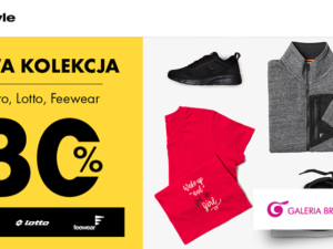 Nowa kolekcja Umbro, Lotto Feewear do -30%