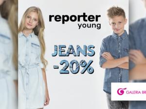 Promocja Jeans -20% na produkty wykonane z jeansu!