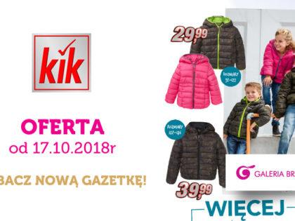 Nowa gazetka promocyjna KiK!