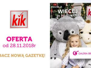 Nowa gazetka sieci sklepów KiK!