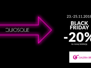 Black Friday w QUIOSQUE!