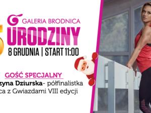 5-te urodziny Galerii Brodnica już 8 grudnia!