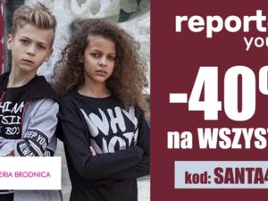 -40% rabatu z okazji Mikołajek w Reporter Young!