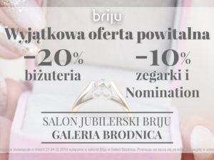 Salon jubilerski Briju już otwarty!