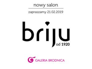 Briju nowy salon w Galerii Bronica