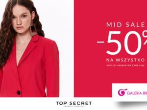 MID SALE -50% w Top secret!