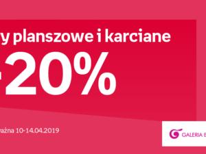 Gry planszowe i karciane -20%