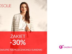 Tylko w QUIOSQUE żakiet -30% przy zakupie nieprzecenionej sukienki