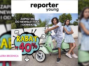 Bang! Rabat -40% z okazji Dnia Dziecka w Reporter Young!