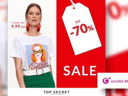 SALE do -70% w Top Secret & Friends!