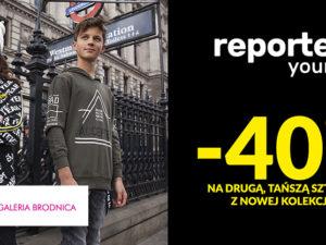 -40% na drugą sztukę w Reporter Young!